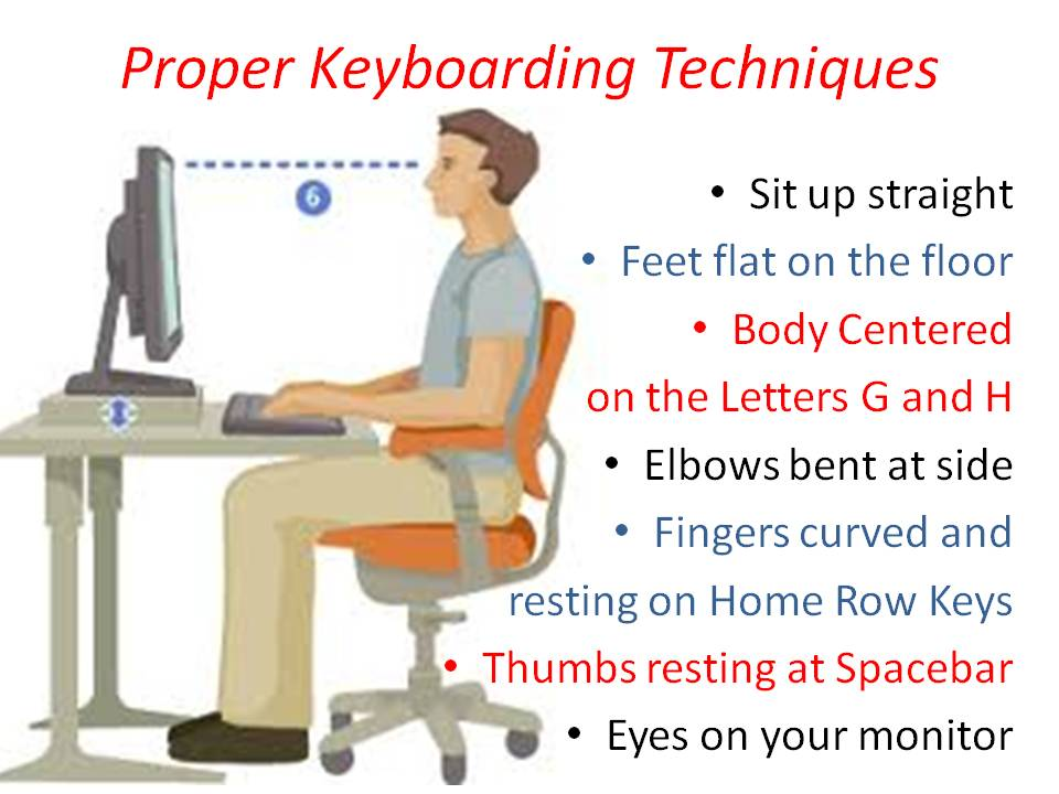 how to become a good typist